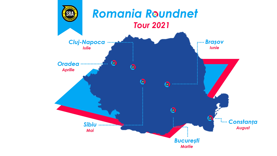 Programul Turului Romaniei la Roundnet 2021