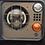 Thumbnail: ENTOURAGE DE FEUX avec grille de protection