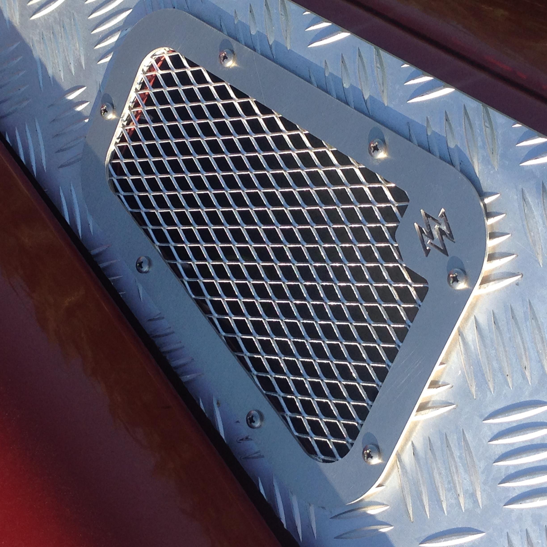 Grille de ventilation PUR