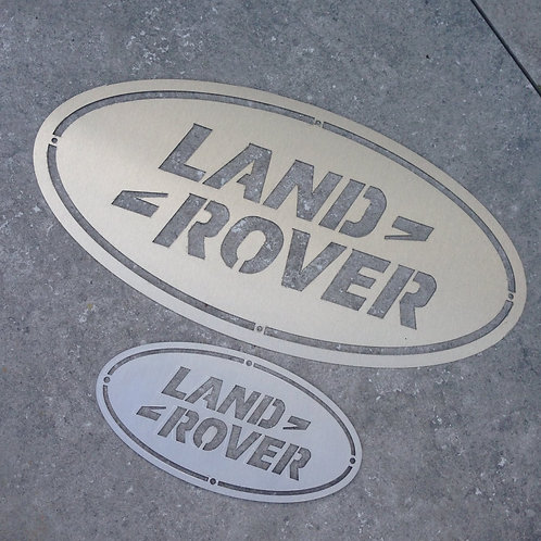 Enseigne LAND 20cm