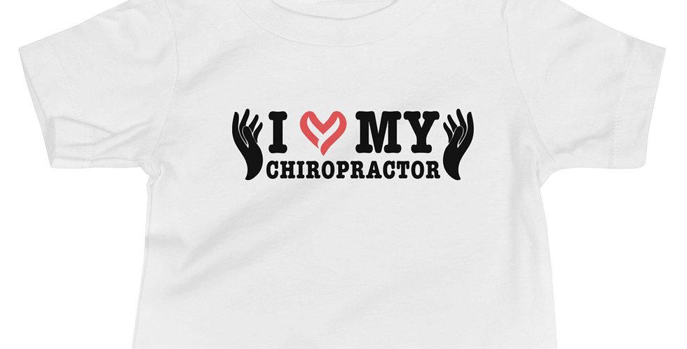 Love My Chiropractor Baby Jersey Short Sleeve Tee