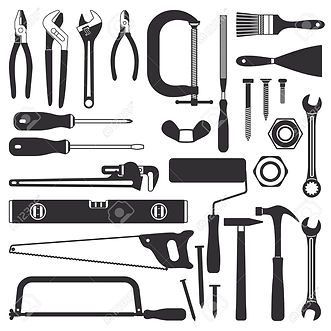 114991151-various-hand-tools-vector-silh