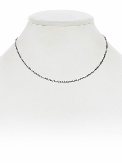 "Sterling Silver Ball Chain - 16"" - Margo Morrison"