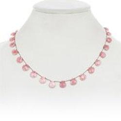 Pink Rhodochrosite Necklace - Margo Morrison