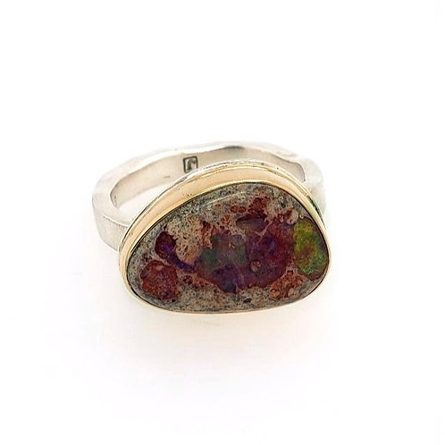 Mexican Fire Opal Ring - Jamie Joseph