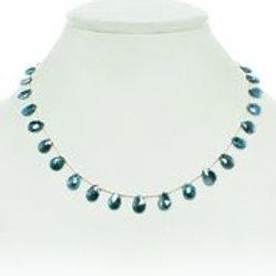 Green Labradorite Necklace - Margo Morrison