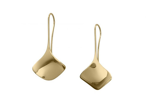 """Reflection"" Earrings - 14kt Gold - Ed Levin Studio"