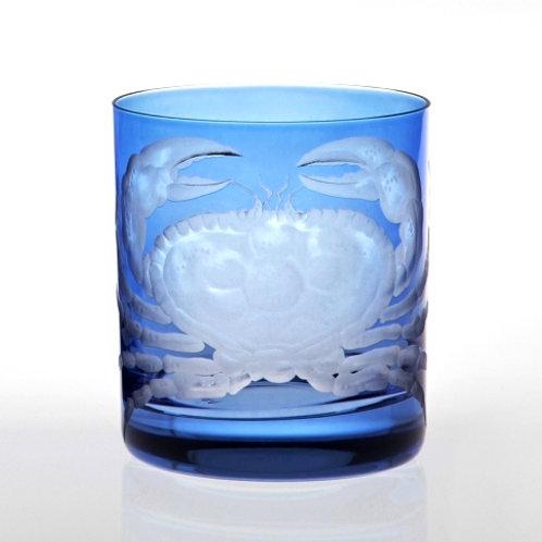 Crab Motif Crystal DOF - Set of Two