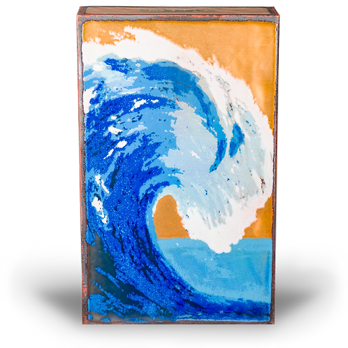 """Tidal"" - Spirit Tile by Houston Llew"
