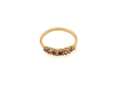 Made by Branch Studio - Multi-color Sapphire Ring