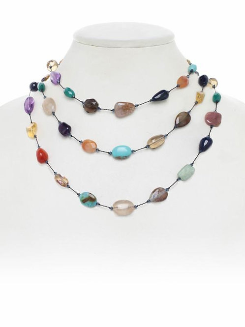 Multi-stone Necklace - Margo Morrison
