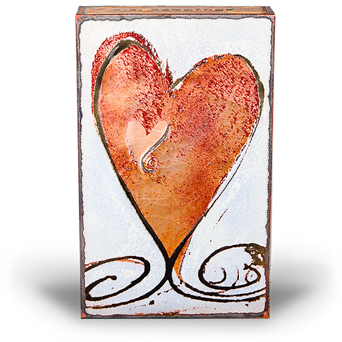 """Turner Heart II"" Spirit Tile by Houston Llew"