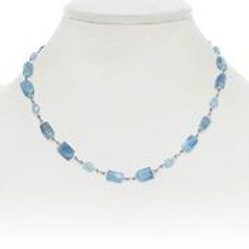 Aquamarine Necklace - Margo Morrison