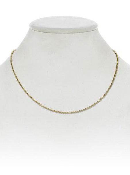 """Margo Morrison - 18kt Gold Vermeil 16"""" Chain"""
