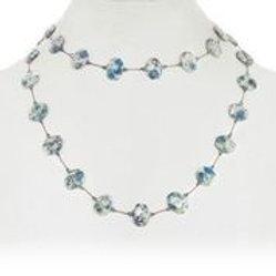 Jasper Blue Azurite Necklace - Margo Morrison