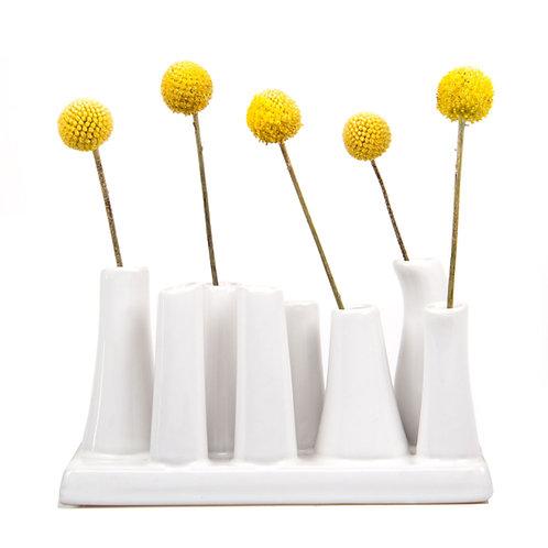 """Pooley Vase"" - White"