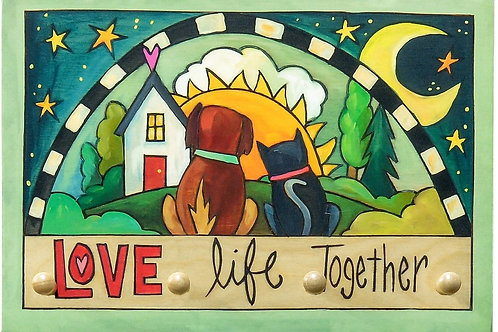 Sincerely Sticks - Dog & Cat Key Ring Plaque