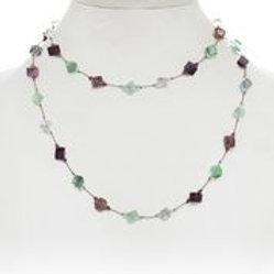 Multi-color Fluorite Necklace - Margo Morrison