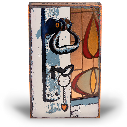 """Combination"" - Spirit Tile byHouston Llew"