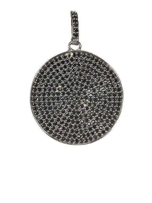 Sterling Silver & Black Spinel Charm - Margo Morrison