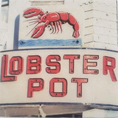 Lobster Pot Ptown Marble Coaster