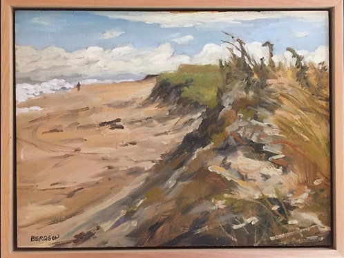 "Philip Bergson - ""Beach Stroll"" - Painting"