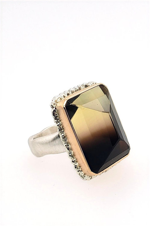 Bi-color Quartz Ring - Jamie Joseph