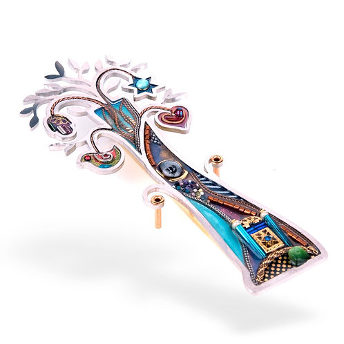 """Tree of Life"" Mezuzah"