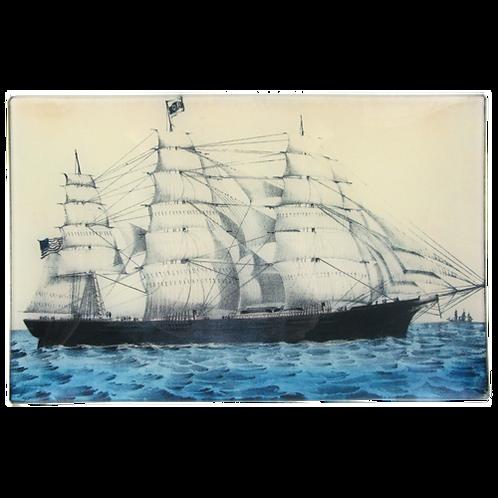 "John Derian - Clipper Ship 9"" x 14"" Letter Tray"