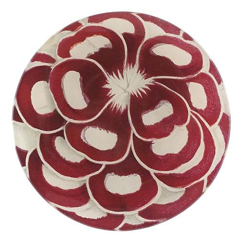 """John Derian - """"Floral Favorite"""" 5 3/4"""" Round Plate"""