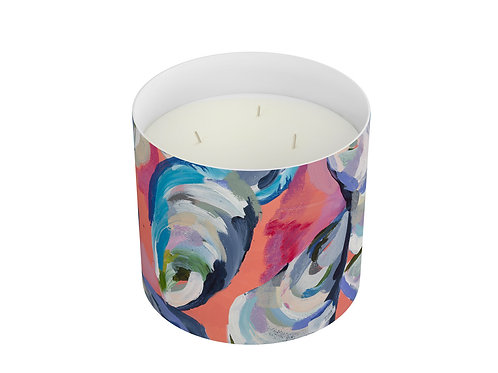 Rose Water Three Wick Candle