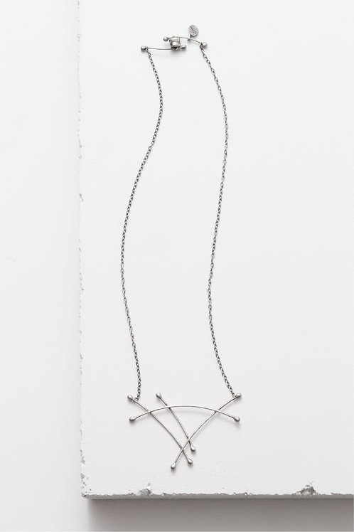 """Sail"" Necklace - Sterling Silver"