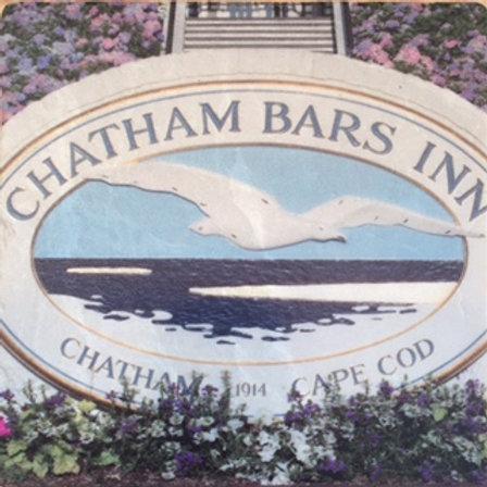 Chatham Bars Inn Coaster - Marble