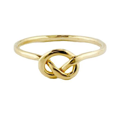 Tom Kruskal - Sailor's Knot Ring - 14kt Gold