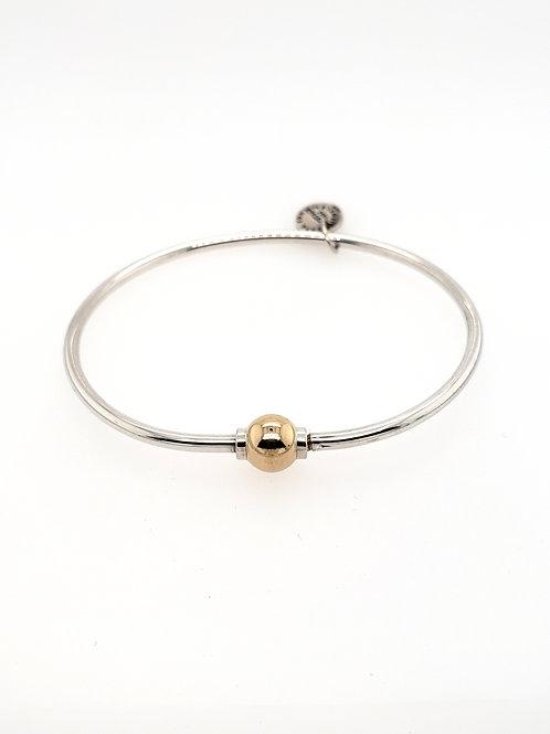 """""""Cape Cod"""" Bracelet - Sterling & 14kt Gold"""