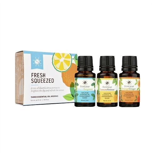 """""""Fresh Squeezed"""" - Trio of Citrus Infused Essential Oils"""