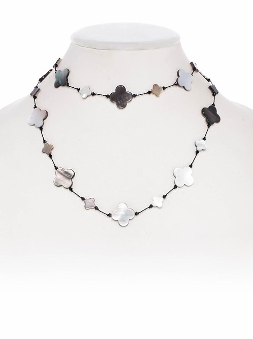 Mother of Pearl Combination Necklace - Margo Morrison