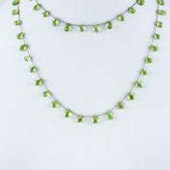 Peridot Necklace (Long) - Margo Morrison