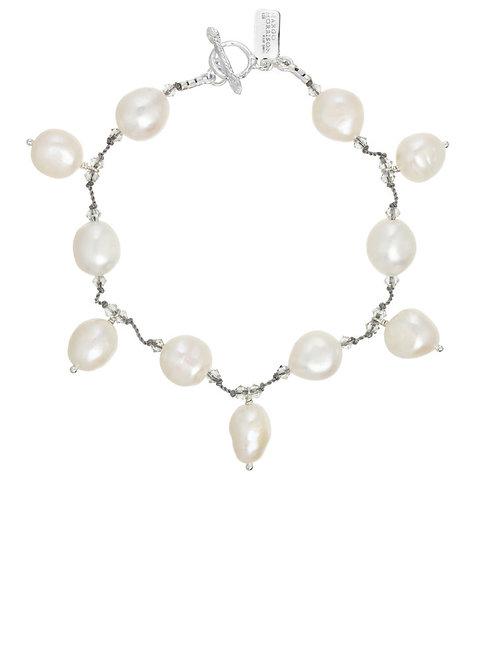 """Dancing Pearl"" Bracelet Single Strand"