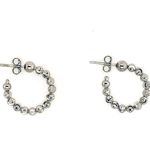 Oficina Bernardi - Sterling Silver Hoop Earrings