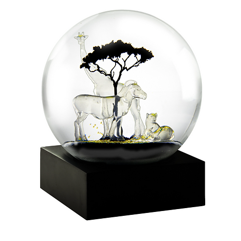 """Safari"" Snow Globe"