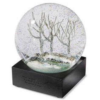 """Winter Trees"" Snow Globe"