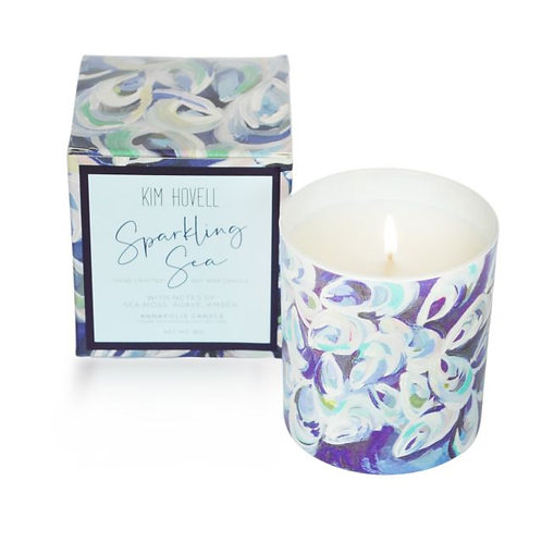 """Sparkling Sea"" 8 Oz. Boxed Candle"