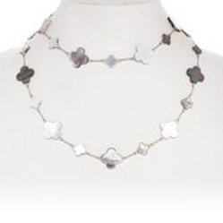 Mother of Pearl & Abalone Necklace