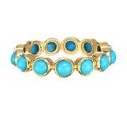 18kt Gold & Turquoise Ring - Margo Morrison