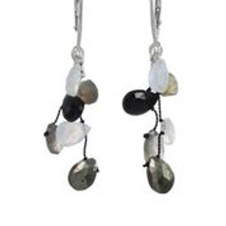 Moonstone, Labradorite, Black Spinel