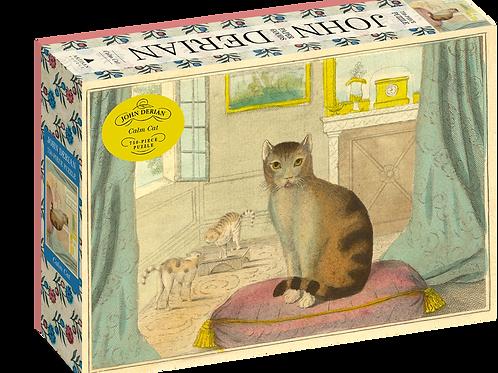 "John Derian - ""Calm Cat"" 750 Piece Puzzle"