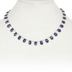 Blue Sapphire Necklace - Margo Morrison