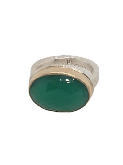 Jamie Joseph - Green Onyx Ring