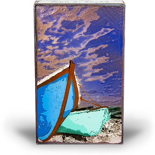 """Sea Worthy"" - Spirit Tile by Houston Llew"
